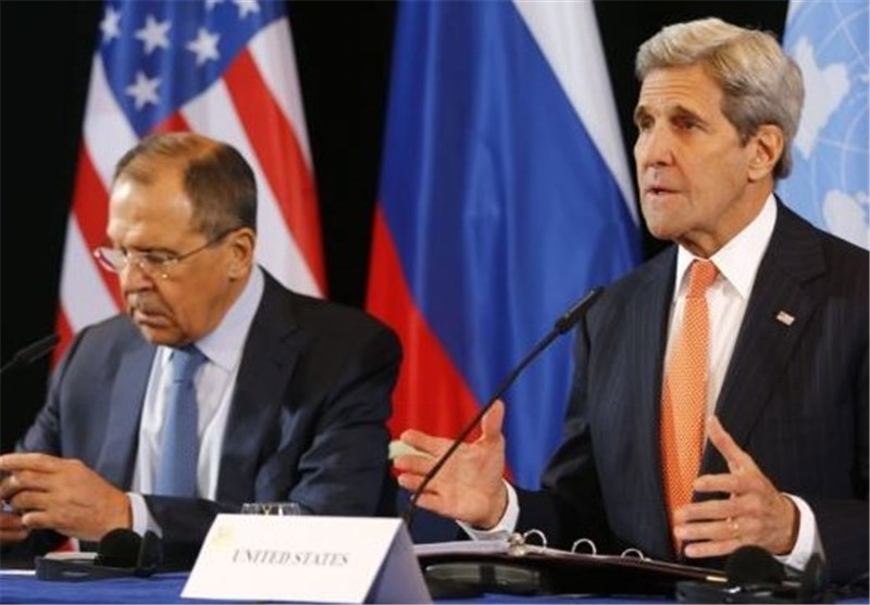 Kerry Meets Russia's Lavrov on Syria Cooperation Plan