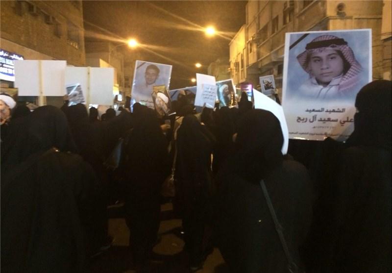 تظاهرات در القطیف