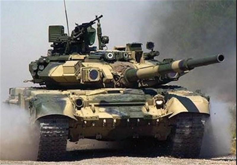 "الدبابة الروسیة ""تی-90أ"" تستخدم فی عملیات تحریر حلب"