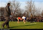 مسابقات کشتی پهلوانی لوچو در مازندران