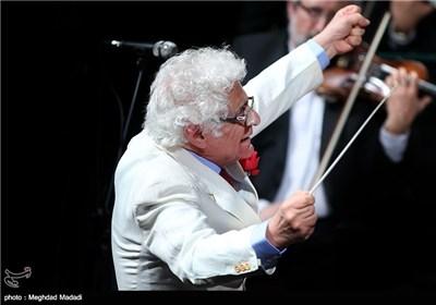 لوریس چکناواریان رهبر ارکستر ملی ایران