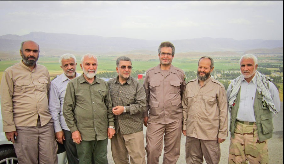 Image result for سردار شهید حاج رضا فرزانه