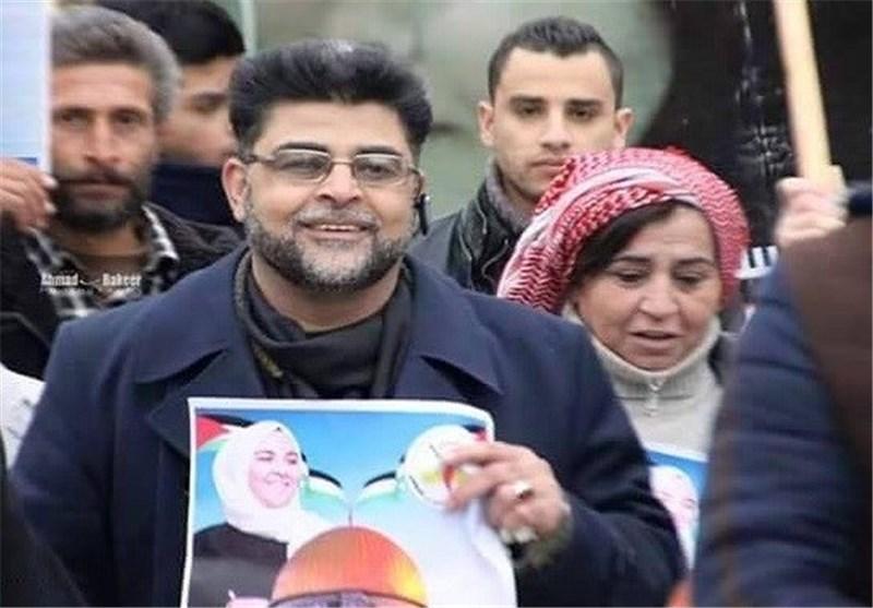 """والد الشهیدة الفلسطینیة أشرقت القطنانی: لا أقبل فکرة أن تکون """"إیران الثورة"""" بلا فلسطین"""