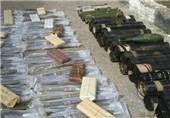 کشف جنگافزارهای آمریکایی و اسرائیلی در حومه السویداء+تصاویر