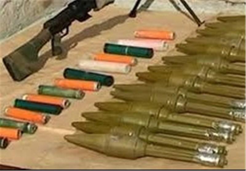 ضبط مئات الألغام الأمریکیة و«الاسرائیلیة» وأسلحة وذخیرة بریف السویداء