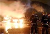 آتش سوزی در مجتمع پتروشیمی تگزاس آمریکا