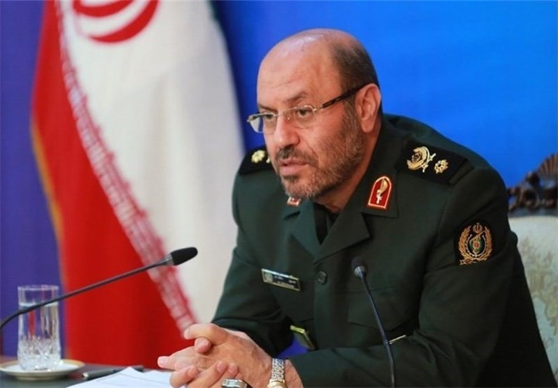 وزیر الدفاع یدحض المزاعم الامریکیة الجدیدة حول اختبار صاروخی ایرانی جدید