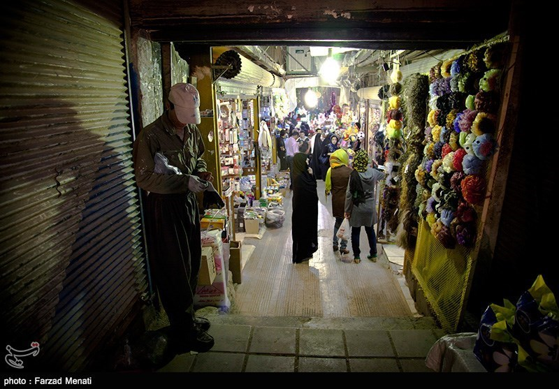 Traditional Bazaar in Kermanshah; A Tourist Attraction of Iran