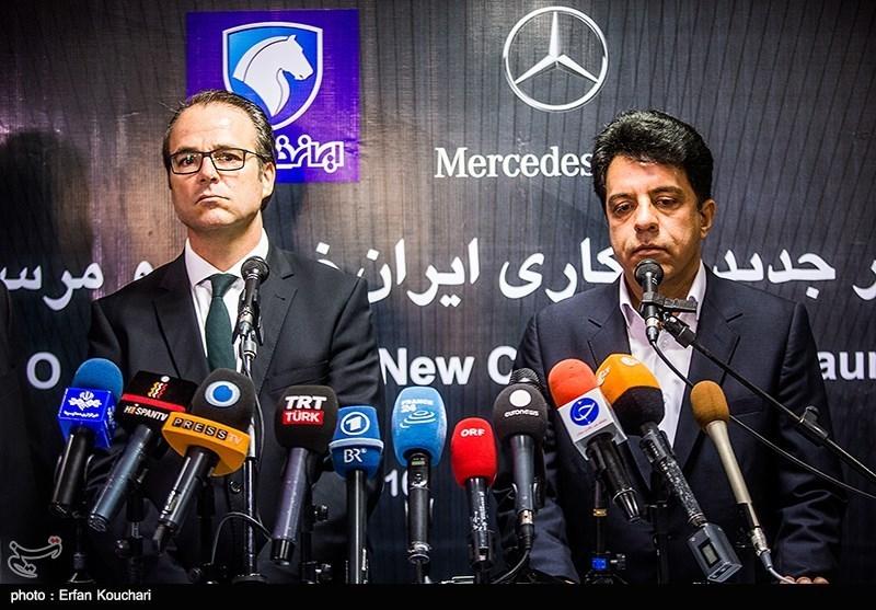 زمزمه قرارداد جدید ایران با بنز یک سال پس از برجام