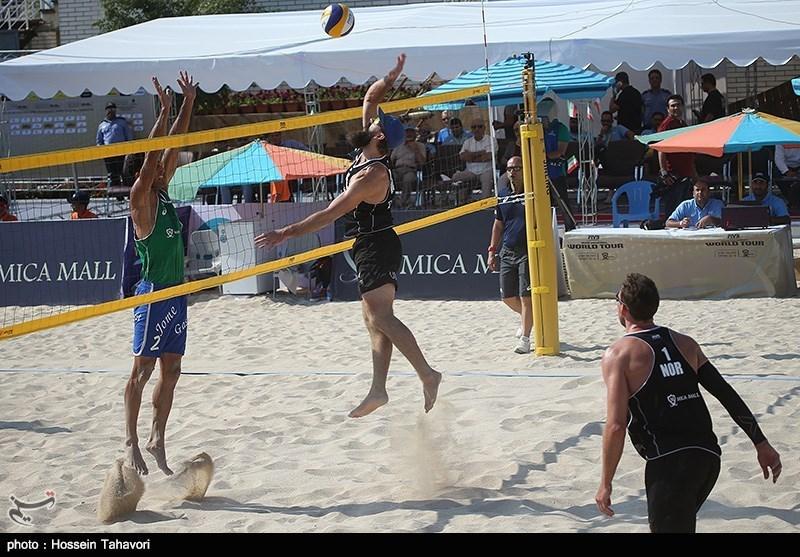 دومین روز از تورنمنت بین المللی والیبال ساحلی در کیش