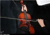 اجرای ارکستر ملی به رهبری فرهاد فخرالدینی در نهمین روز جشنواره موسیقی فجر