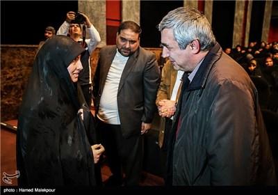 گفتوگوی همسر شهید مصطفی احمدیروشن با ابراهیم حاتمیکیا کارگردان فیلم بادیگارد