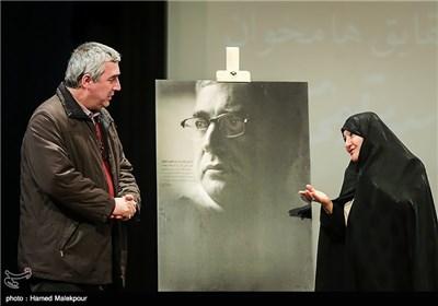 تقدیر همسر شهید مسعود علیمحمدی از ابراهیم حاتمیکیا کارگردان فیلم بادیگارد