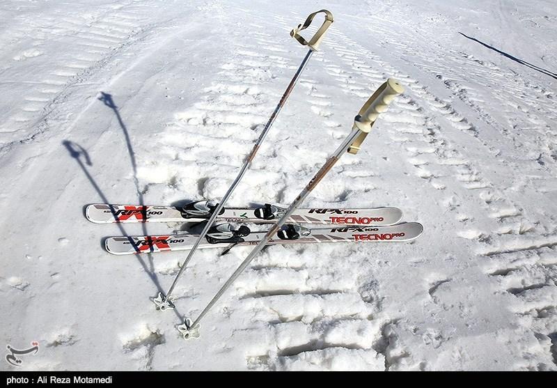مسابقات اسکی انتخابی تیم ملی نونهالان کشور در کوهرنگ