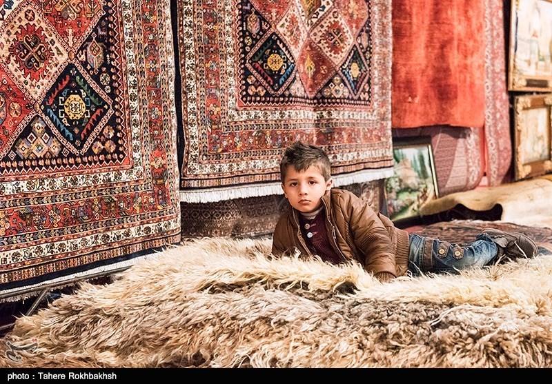 دوازدهمین نمایشگاه فرش دستباف در شیراز