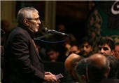 روضهخوانی «منصور ارضی» در ظهر روز عاشورا + فیلم
