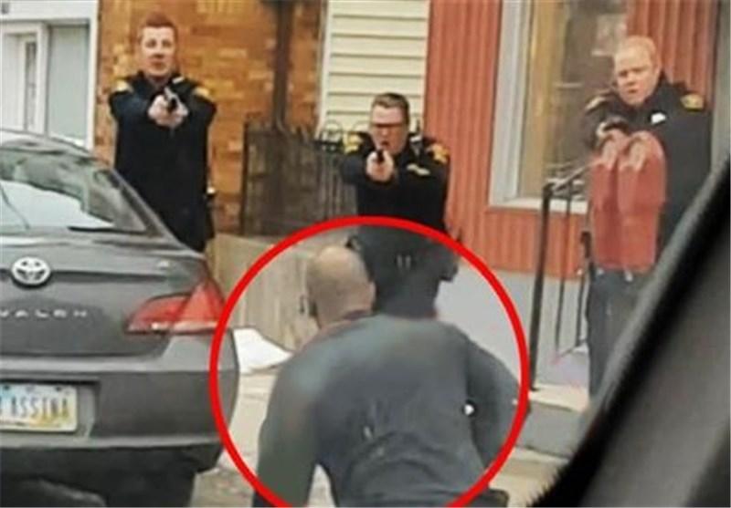 شلیک به مرد سیاه پوست