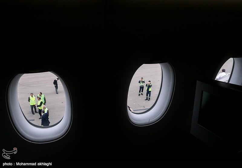 نقص فنی در پرواز تهران به مشهد