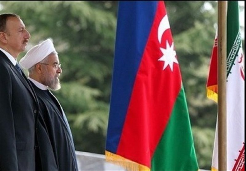 الرئیس روحانی یستقبل رسمیا نظیره الآذربیجانی