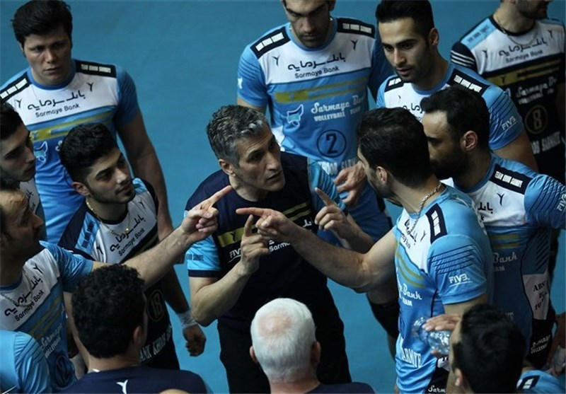 Iran's Bank Sarmayeh Beats Japanese Rival at Asian Club Volleyball Championship
