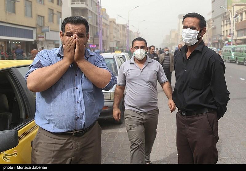 ادامه آلودگی در اهواز