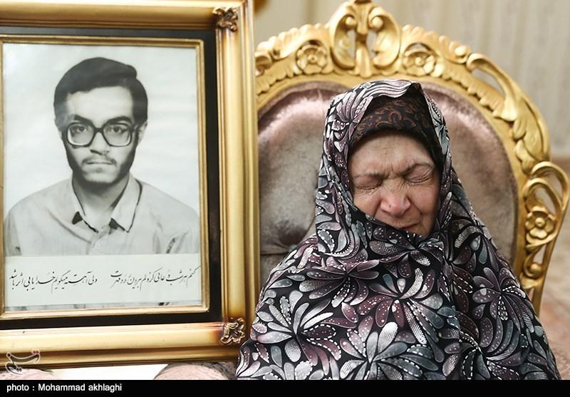 خبررسانی به خانواده شهید تازه تفحص شده سعید حیدری