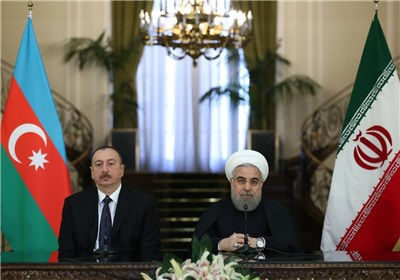 "پیام تبریک روحانی به ""الهام علیاف"""
