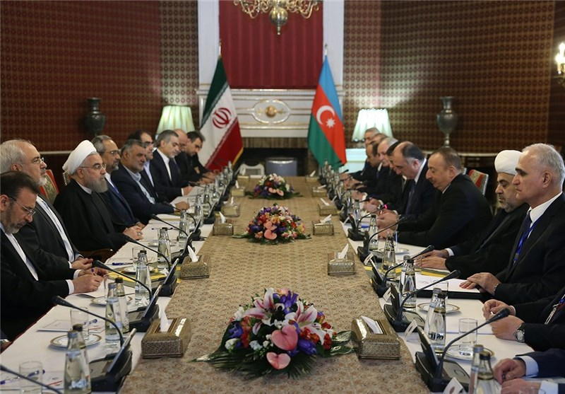 President: Iran Sees No Obstacle to Promotion of Ties with Azerbaijan
