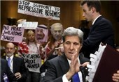 Activists Protest US Arms Sales to Saudi Arabia at Kerry's Senate Hearing (+Video)