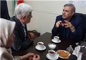 حضور عارف و معاون سرپرست نهاد ریاست جمهوری در ستاد انتخاباتی یک حزب