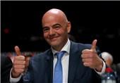 تبریک رئیس فیفا به مناسبت فرا رسیدن نوروز