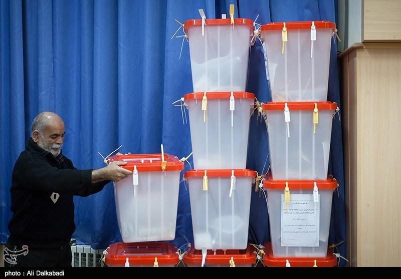 شمارش آرا و تحویل صندوق های اخذ رای در سبزوار