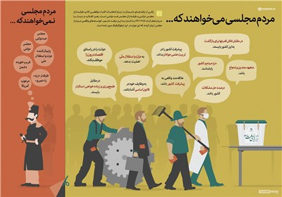 اینفوگرافیک / مجلسی که مردم میخواهند