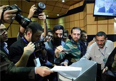 حاشیه های خبرنگاران در شب انتخابات