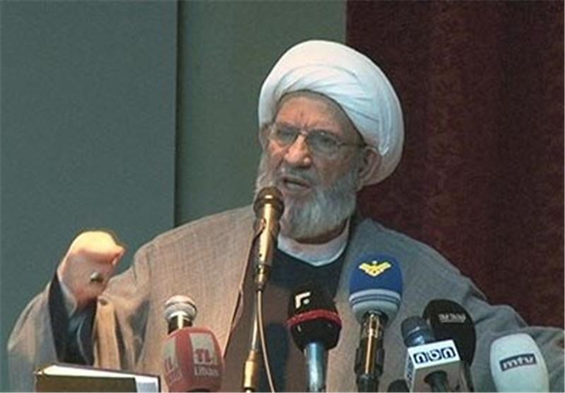 الشیخ یزبک: آل سعود حققوا أمنیة الکیان الصهیونی بتسمیة حزب الله منظمة إرهابیة