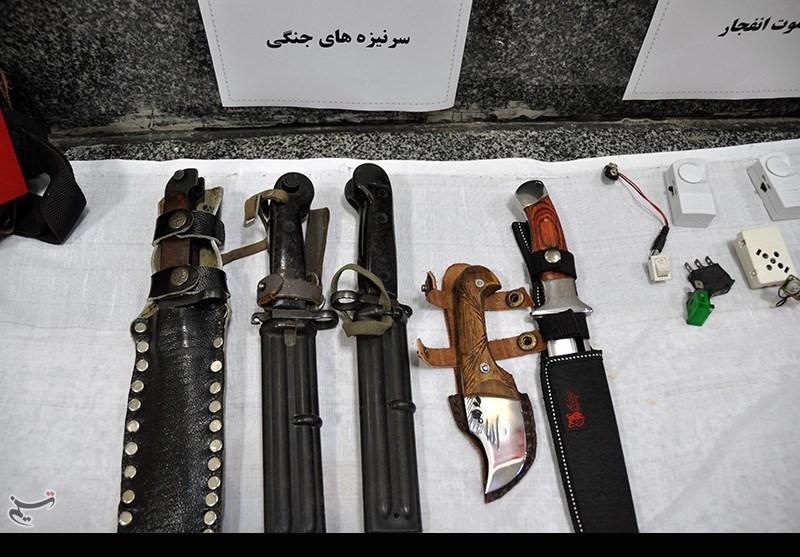 کشفیات وزارت اطلاعات از دو گروه تروریستی