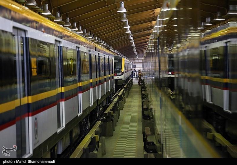 کاهش سرفاصله حرکت قطارهای مترو در خط 2