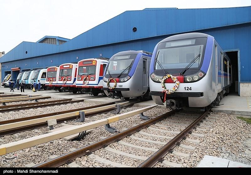 رونمایی از 57 واگن مترو تهران و حومه