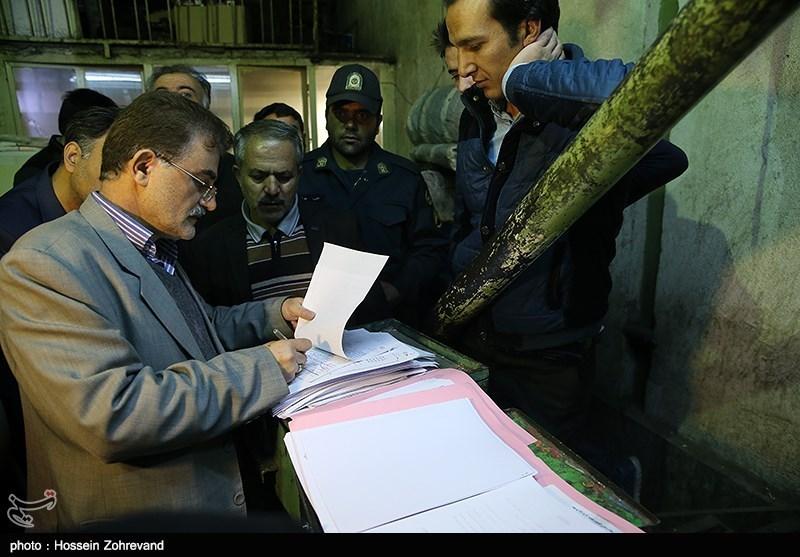 حضور تیمهای گشت مشترک تعزیرات در تره بار مرکزی تهران