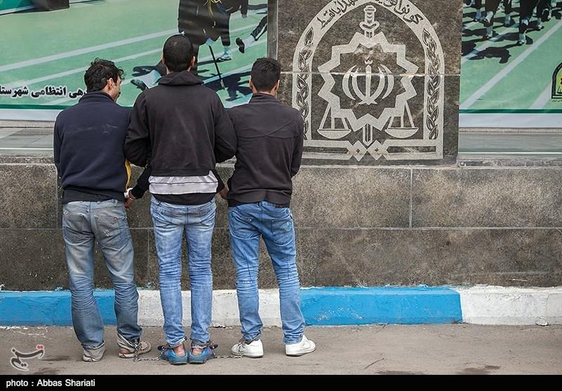 دستگیری باند خفتگیری در استان البرز