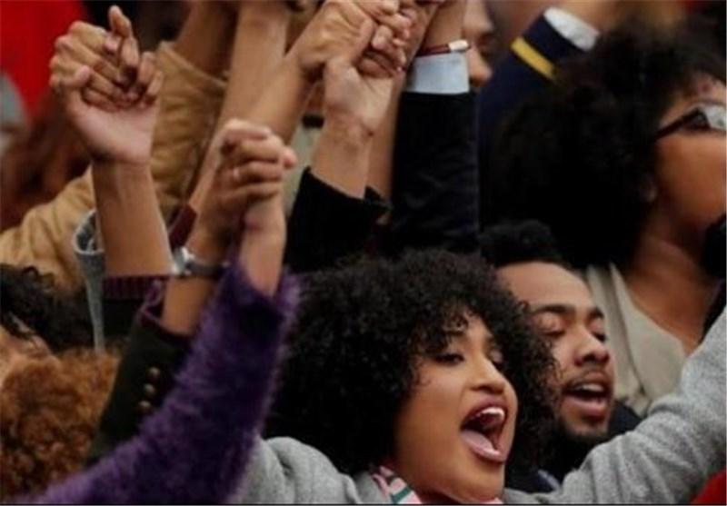 African American Activists Disrupt Trump Rally