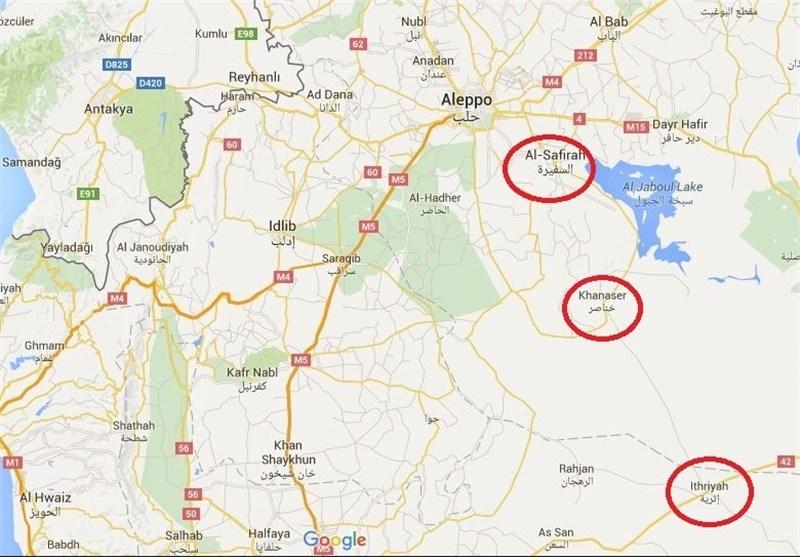 تفاصیل سیطرة الجیش السوری على شریان الحیاة الواصل إلى حلب وأهمیته الاستراتیجیة+ صور