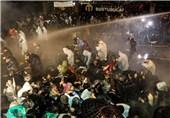 حمله پلیس ترکیه به معترضان