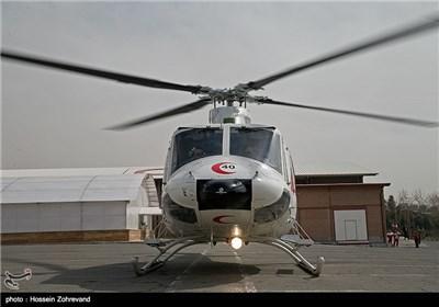 رونمایی از جدیدترین بالگرد امدادی ایران و مانور امداد و نجات