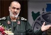 مشهد|سردار سلامی: دشمنان میخواهند این ملت در فشار، سختی، رنج و فقر قرار گیرد