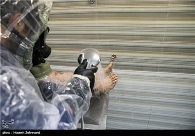 رزمایش شیمیایی فجر 2 سپاه