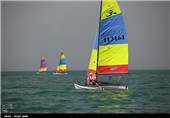 برگزاری سیزدهمین مرحله اردوی تیم ملی بادبانی در بندرانزلی