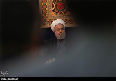 نشست خبری رئیس جمهور در پایان سفر به یزد