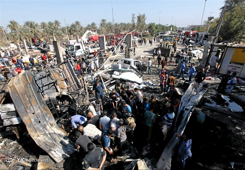 انفجار خودرو در جنوب بغداد