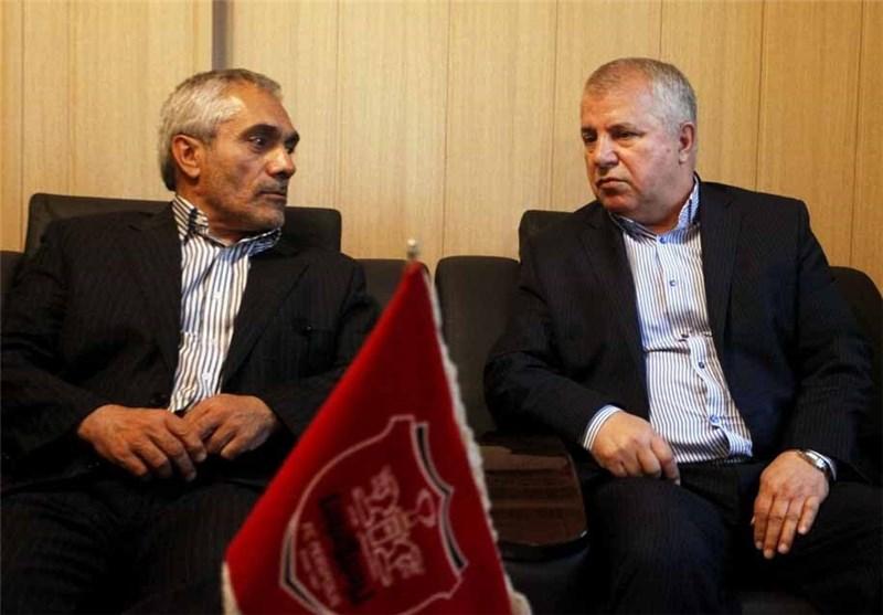 علی پروین و طاهری